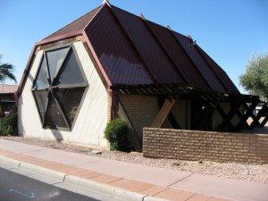 The original structure, pre-construction. April 2009.
