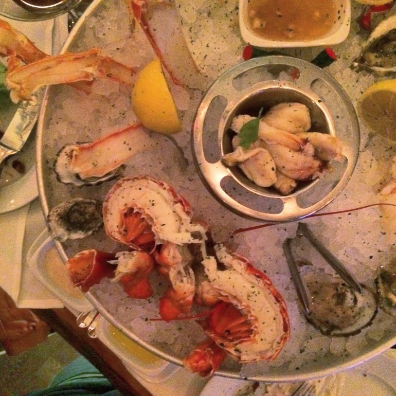 Chilled Seafood Raw Bar Oysters Steak 44 Phoenix Arizona
