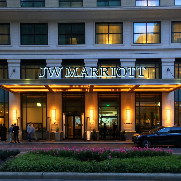 JW Marriott Downtown Houston.