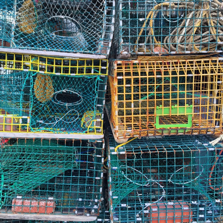 Lobster trap, not tourist trap.