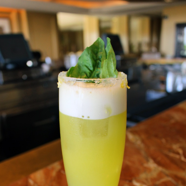 Porter's Opal Sour (courtesy: Phoenician Resort)